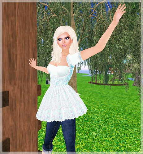 Review - Hopscotch - Rosalie, blue, skirt