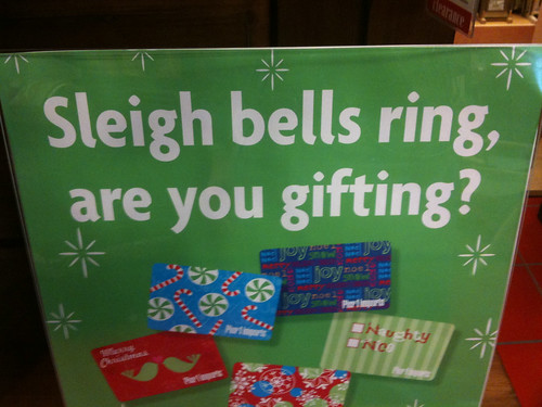 Sleigh Bells Ring, Are You Gifting?