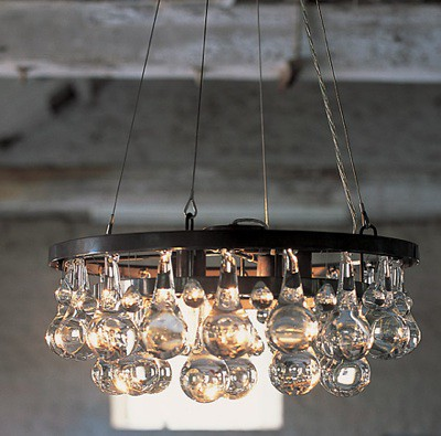 chandelier arctic pear