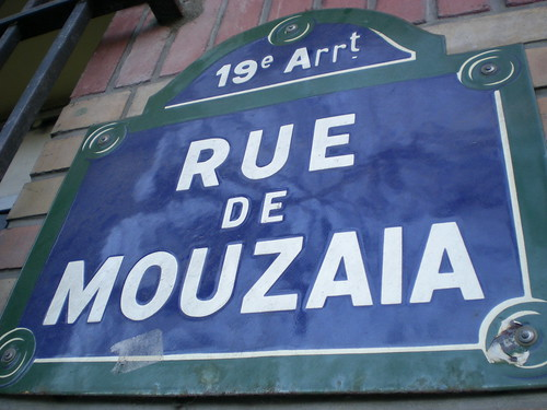 19th arr Rue de Mouzaïa