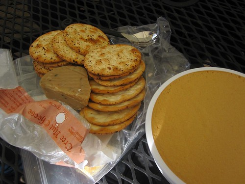 illegal cheese and cracker party