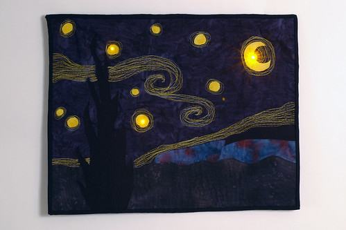 The Starry Night With LEDs