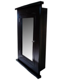 Primitive Medicine Cabinet / BlAck Finish / Recessed   eBay
