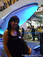 Me with the Big Blue Whale
