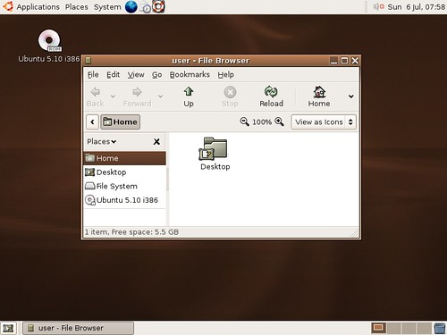 Ubuntu Breezy Badger
