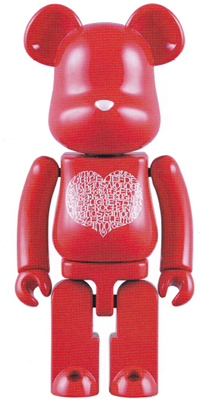 Be@rbrick 200% Chogokin International Love Heart