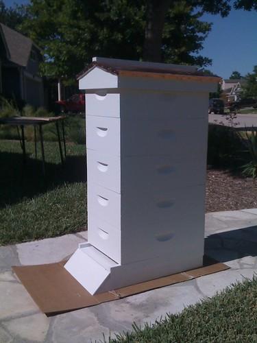 8 Frame Garden Hive