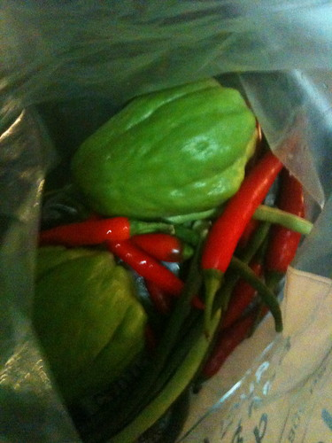 Produce from Mum's garden (1)