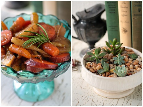 Carrots and Succulents