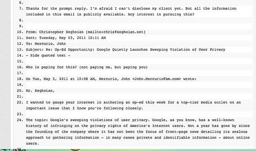 FB vs. Google