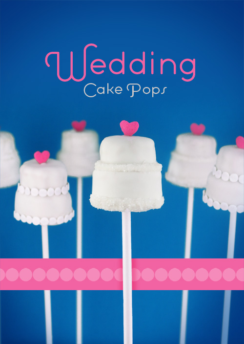 Wedding Cake Pops  bakerellacom