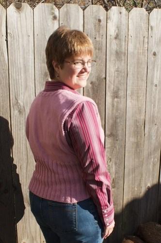 Glace Vest: back view