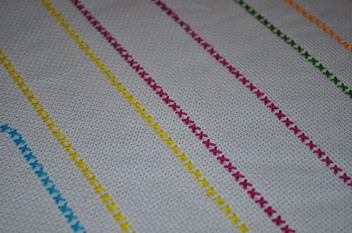 Close up Stitching