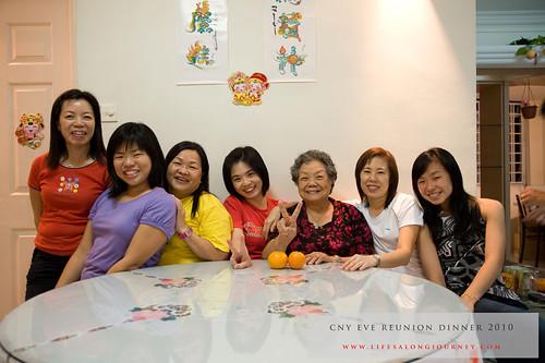 CNY Reunion Dinner 2010 #19