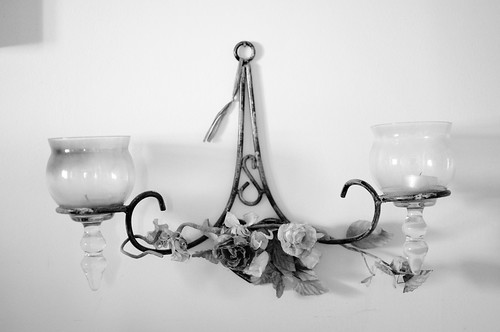 The Double Candle Holder