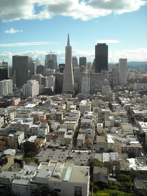 The view from Coit Tower