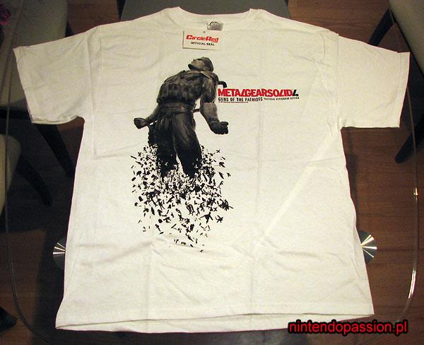 Metal Gear Solid 4 Dissolving Snake - koszulka