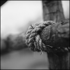 Rope joint (>>mansur::amir<<) Tags: blackandwhite bw 120 6x6 tlr film monochrome analog rolleiflex mediumformat square blackwhite village rope malaysia melaka planar carlzeiss rolleinar kodaktmax100 28f ilfordddx rolleinar2 rolleiflex28fplanar serkampantai manilovefilm