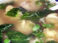 wong kee bbq & peking duck - wonton soup close up by foodiebuddha