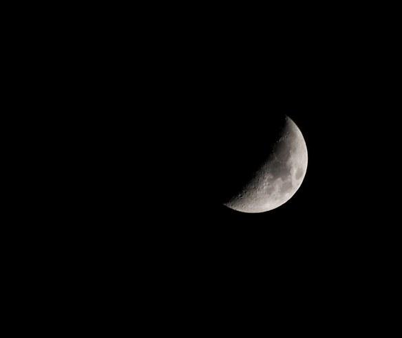 1st Quarter moon