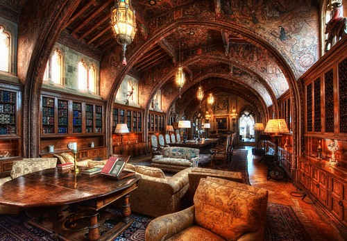 The Gothic Study - The Private Library o by Stuck in Customs, on Flickr