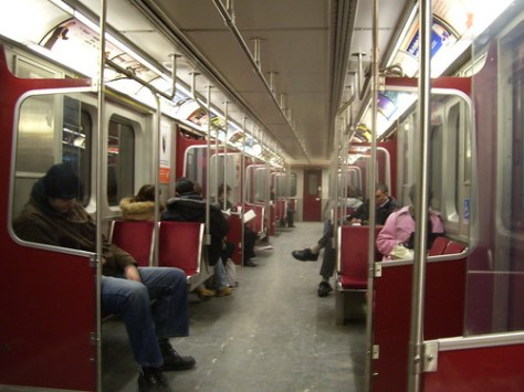 TTC Bombardier Subway Car_1345