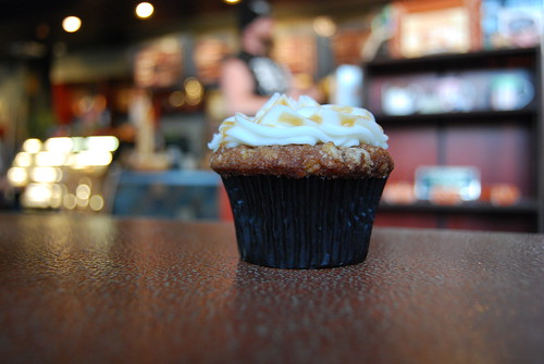 Bake U Happy Apple Cupcake, Sold at It's a Grind, Castaic by you.