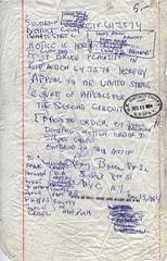 Appeal Request from Lenny Bruce v. Hon. John M...