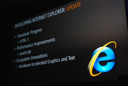 Internet Explorer 9, a free upgrade for the web