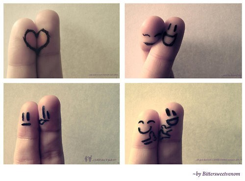 fingers with love