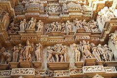 Erotic Temple Carvings, Khajuraho