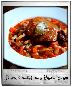 Duck Confit and Tasty Bean Stew