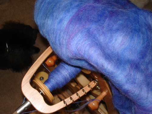 Spinning with Grafton Fibers