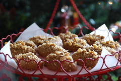 Μελομακάρονα / small honey cakes