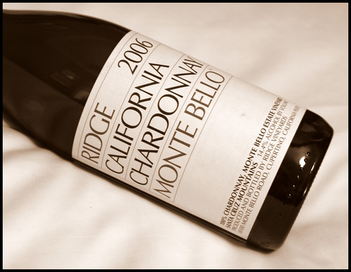 Ridge Monte Bello Chardonnay 2006