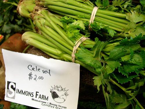 Simmons Farm celery