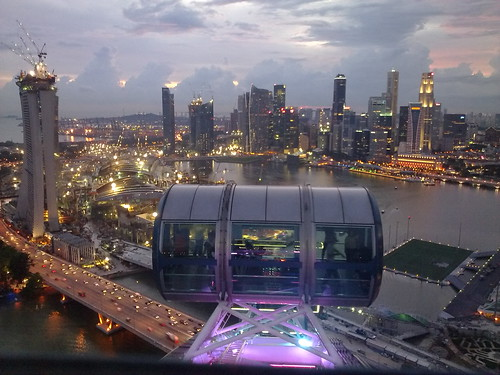 Singapore Flyer - at the top #3
