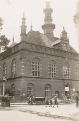 Brick building intact, Poland, summer 1946