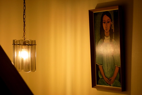 Sunday: Modigliani's Alice at Night
