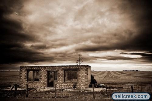 Abandoned Farmers Hut