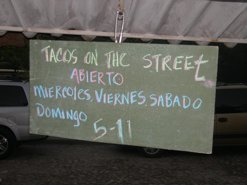 tacos on the street