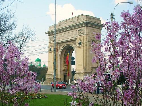 Bucharests Triumph Arc