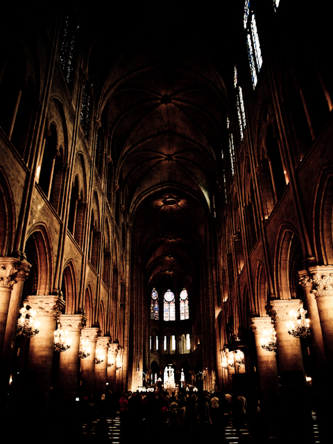 Notre Dame - The dark version