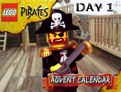 Pirate Advent Calendar Day 1a