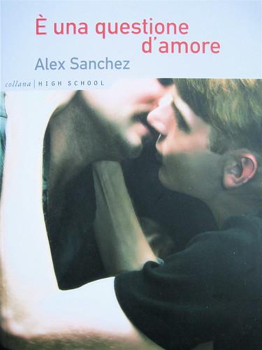 Alex Sanchez, E' una questione d'amore, ©Playground 2009, Graphic Designer: Federico Borghi , copertina, (part.), 13