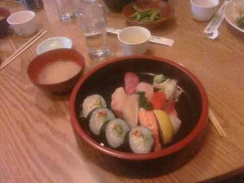Lunch @ Hiroshi's on Eastlake