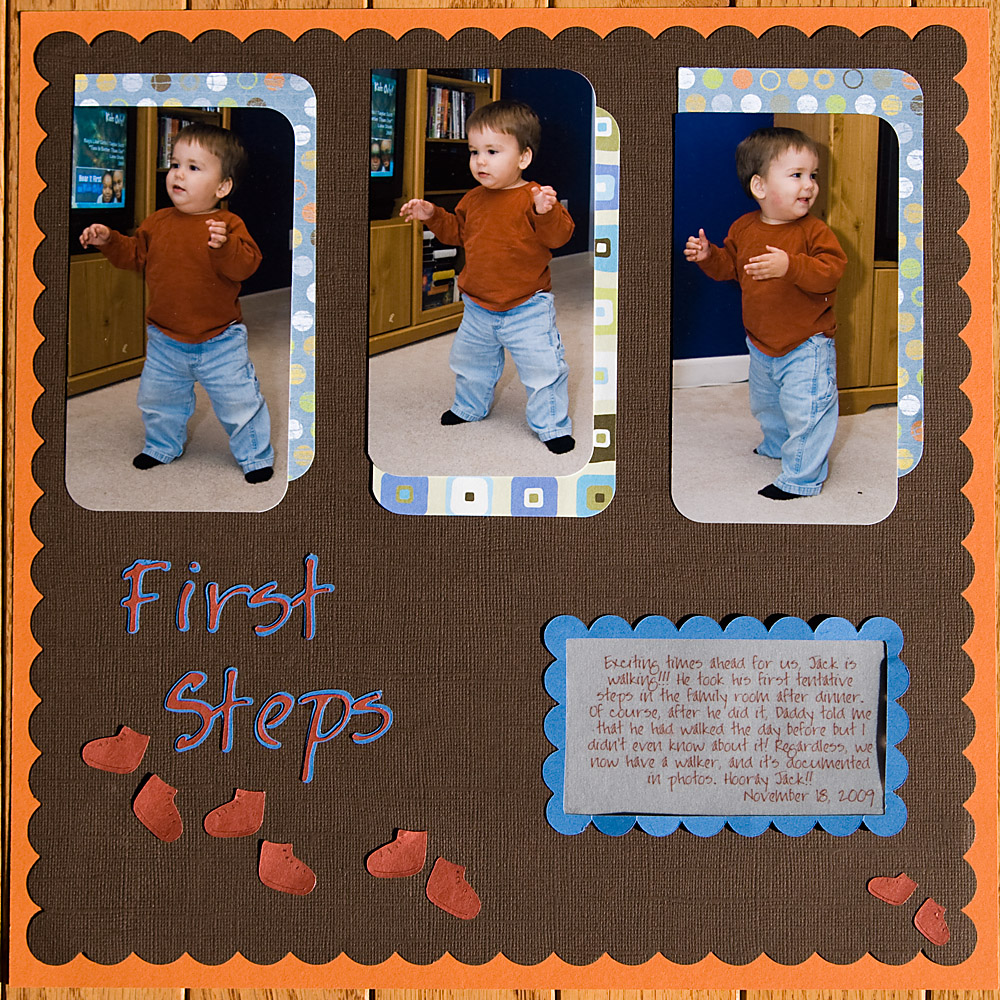 first steps layout