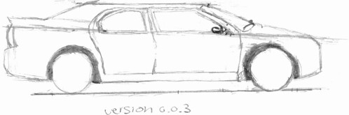 Drawing cars, version 0.0.3