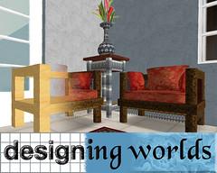 Designing Worlds logo