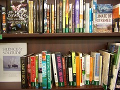 The Edge of Evolution & The Darwin Myth mis-shelved in the science section